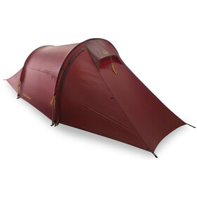 Nordisk Halland 2 Light Weight SI Tiendas de campaña, burnt red
